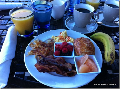 Hyatt Breakfast 5
