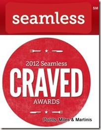Seamless Food Delivery 2012 Craved Awards