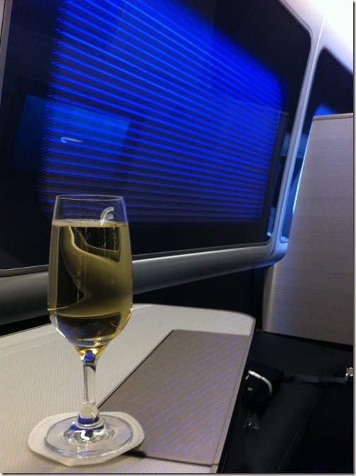 BA First Champagne Happy Hour