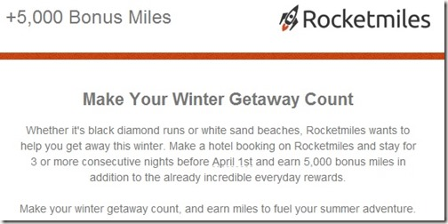 Rocketmiles 5k bonus fall 2013