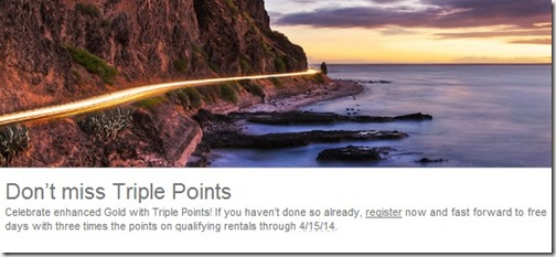 Triple Points with Hertz