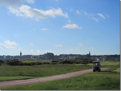 View of St Andrews From The Course