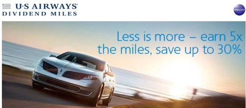 Avis US Airways Fall 2014 Bonus 5x