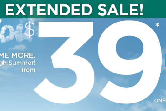Frontier $39/ One Way Fare Sale Ends Tonight
