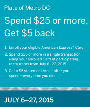 Amex Offer $5 Credit On $25, Every Time You Dine