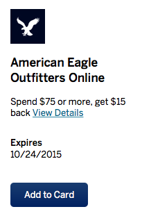 3 New Shopping Amex Offers For You