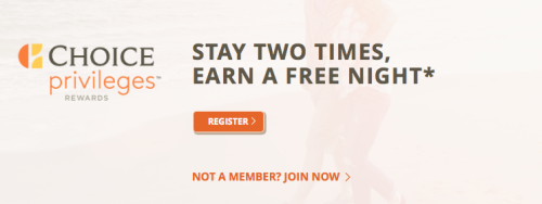 Choice Privileges Free Night After 2 Stays!