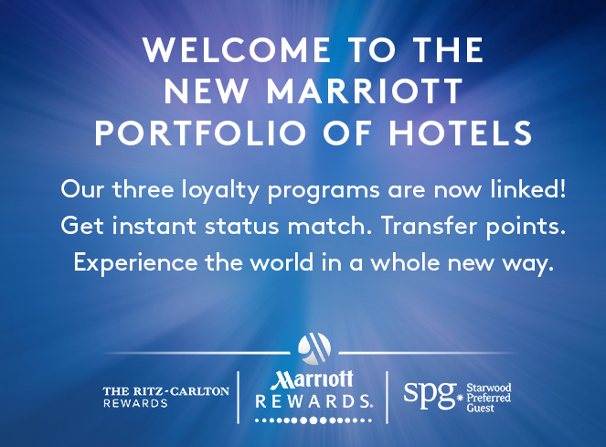 Link Your Marriott & SPG Accounts To Transfer Points