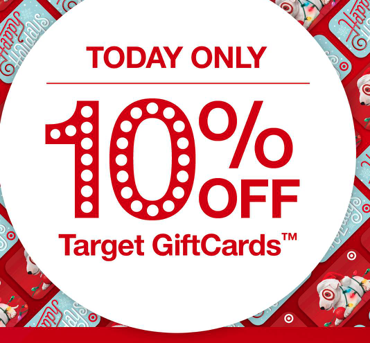 10% Off Target Gift Cards!