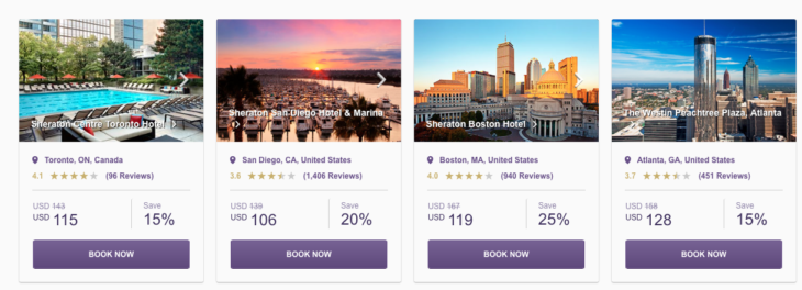 Save With SPG Hot Escapes NYC, Boston, Puerto Rico