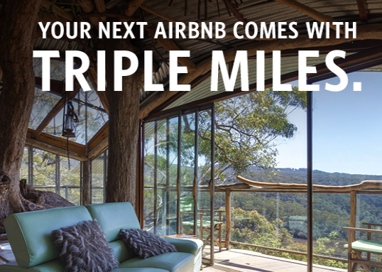 Delta 3X Miles With Airbnb