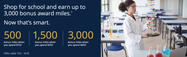 Up To 3,000 Bonus MileagePlus Award Miles