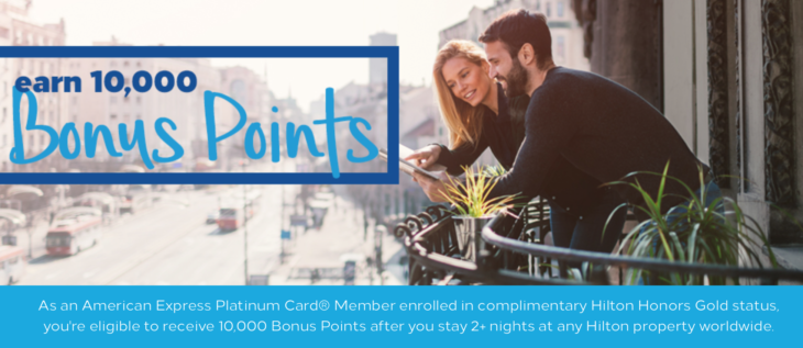 10K Hilton Bonus Points Offer