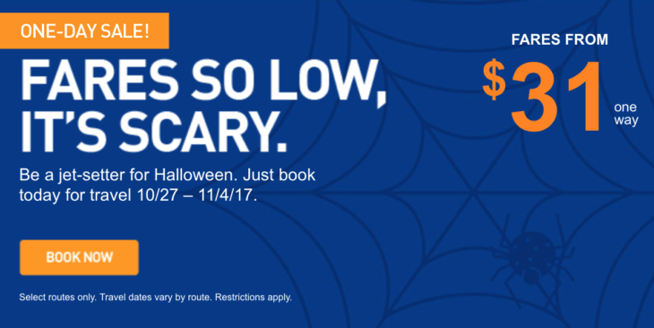More Cheap Fares From Only $31!