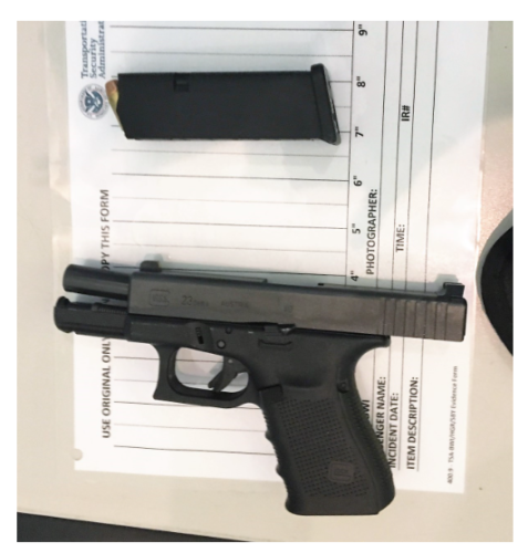 TSA Seizes Man With Loaded .40 Caliber Gun At BWI Airport