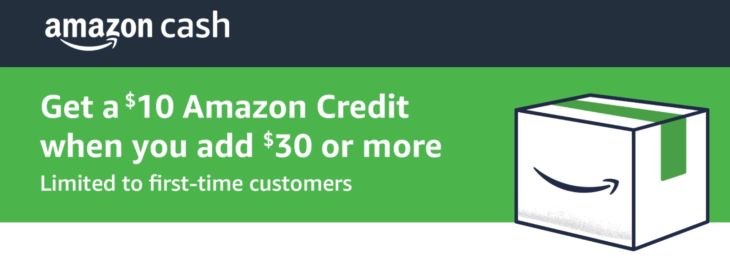 Amazon Cash Free $10 With $30 Load