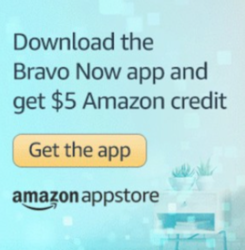 Amazon Free $5 Credit With Bravo App Download