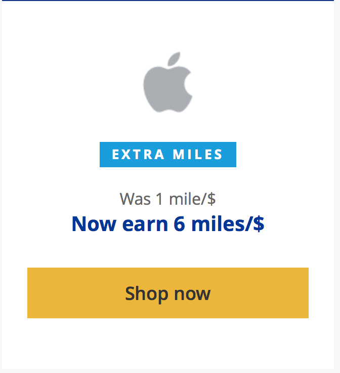 Earn 6x United Or Alaska Miles Today With Apple