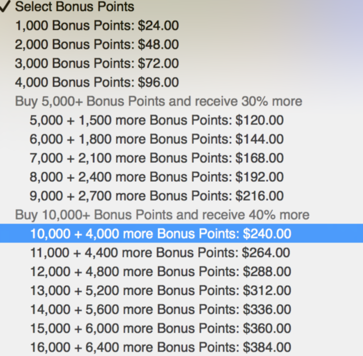 Hyatt 40% Bonus Points Last Day!